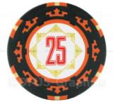 Jeton poker, 25 Cartamundi 14 g in limita stocului disponibil!