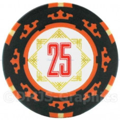 Jeton poker, 25 Cartamundi 14 g in limita stocului disponibil! - Poker chips