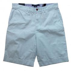 Pantaloni Scurti TOMMY HILFIGER - Pantaloni Chino Barbati - 100% AUTENTIC - Pantaloni barbati, Marime: 34, Culoare: Albastru, Bumbac