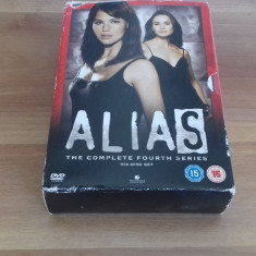ALIAS - 22ep - DVD [A, B] - Film serial, Drama, Engleza