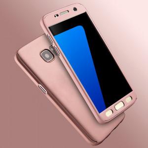 Bumper / Husa 360° fata + spate pentru Samsung Galaxy S7 / S7 edge