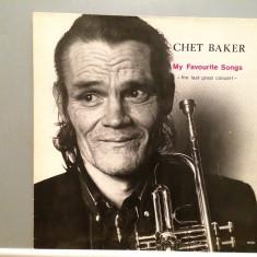 CHET BAKER - MY FAVOURITE SONGS (1988/ENJA REC/RFG) - Vinil/Vinyl/IMPECABIL(NM) - Muzica Jazz rca records