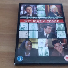 Without a trace - The complete first season - 23 ep - DVD [A, B] - Film serial, Politist, Engleza