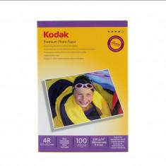Pachet 100 coli hartie foto Kodak Premium 10x15mm 230g - Hartie foto imprimanta