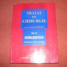 Tratat de chirurgie vol.2 - Neurochirurgie - Irinel Popescu - Carte Chirurgie