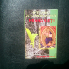 Hrana vietii retete de tratamente naturiste - Mihai Petrovici - Carte Retete de post