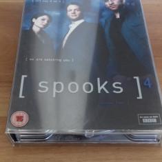 SPOOKS - Season Four - 10 Ep - DVD [A, B] - Film serial, Drama, Engleza