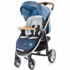 Carucior copii Multifunctional 3in1 Chipolino Avenue Navy