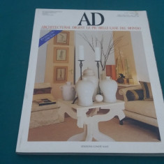 AD ARCHITECTURAL DIGEST/ NR. 202*1998/ TEXT LIMBA ITALIANĂ