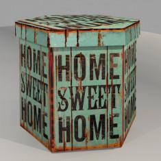 TABURET PLIABIL PVC HOME SWEET HOME