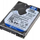 WD HDD2.5 750GB SATA WD7500BPVX - HDD laptop