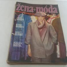LOT8 REVISTE MODĂ ZENA+MODA*1986/NU AU TIPARE - Revista moda