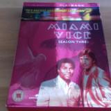 MIAMI VICE - Season Three - 24 ep - DVD [A, B, 1fis] - Film serial, Politist, Engleza
