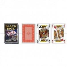 Carti de joc poker casino Black Jack, cu spate albastru (In limita stocului!) - Carti poker