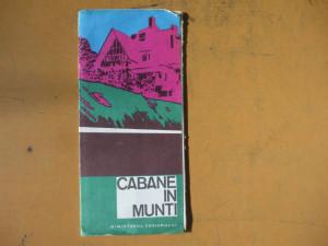 Romania cabane in munti harta color turistica
