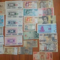 25 de bancnote straine (9 necirculate), Europa
