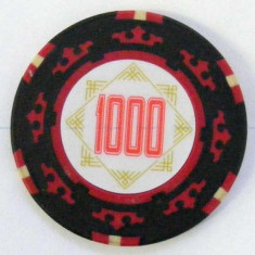Jeton poker, 1000 Cartamundi 14 g in limita stocului disponibil! - Poker chips