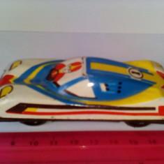 Bnk jc Rusia - Ukraina - masina de curse - tabla - Jucarie de colectie