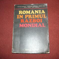 Victor Atanasiu - Romania in primul razboi mondial - Istorie
