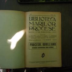 Biblioteca marilor procese vol XII 1931 si Martie 1924 nr.3 - I. Gr. Perieteanu - Carte Istoria dreptului