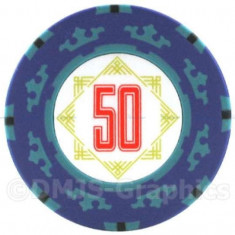 Jeton poker, 50 Cartamundi 14 g in limita stocului disponibil! - Poker chips