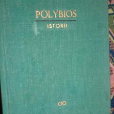 Polybios - Istorii editie cartonata / 596pagini/ 3 harti/ an 1966 - Istorie