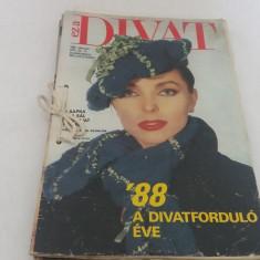 LOT 8 REVISTE MODĂ DIVAT*1988/NU AU TIPARE - Revista moda