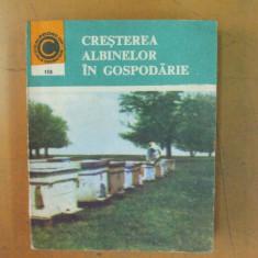 Cresterea albinelor in gospodarie Bucuresti 1985 I. Savu