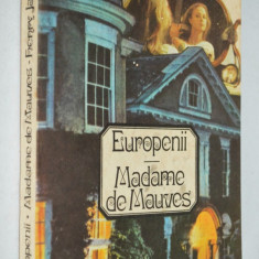 Europenii Madame de Mauves -Henry James - Enciclopedie