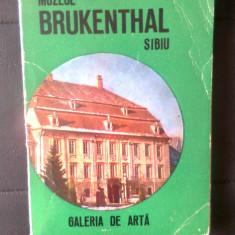 Muzeul Brukenthal Sibiu - Galeria de arta - Ghid (Editura Meridiane, 1975)