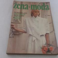 LOT 7 REVISTE MODĂ ZENA+MODA*1987/ NU AU TIPARE - Revista moda