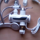 Robinet electric apa calda rece cu dus
