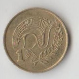 Moneda 1 cent 1983 - Cipru, Europa
