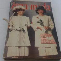 LOT 9 REVISTE ZENA+MODA*1988/ CONȚIN TIPARE - Revista moda