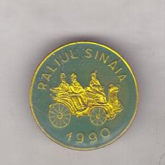 Bnk ins Insigna Raliul Sinaia 1990 - verde, Romania de la 1950