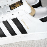 Adidasi de dama Adidas Superstar alb cu negru poze reale masura 37 38 - Adidasi dama
