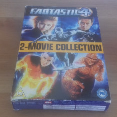 Fantastic 4 - Two Movie Collection - DVD [B] - Film actiune, Engleza