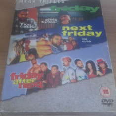 Friday / Next Friday / Friday after next - DVD [C] - Film actiune, Engleza