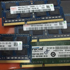 Memorie 4 Gb laptop DDR3 -12800, 10600 - Memorie RAM laptop Samsung, 1600 mhz, Dual channel