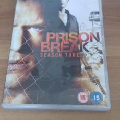 Prison Break - Season Three - 13 Ep - DVD [B, C, cd] - Film serial, Drama, Engleza