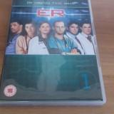 ER - The complete first season - 25 Ep - DVD [B, C, cd] - Film serial, Drama, Engleza