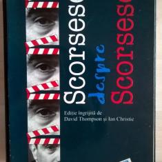 Scorsese despre Scorsese - Carte Cinematografie