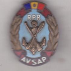 bnk ins Insigna AVSAP RPR -Asociatia  Voluntarilor In Sprijinul Apararii Patriei