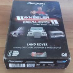 Wheeler Dealers - Land Rover - 3 DVD [A, B, cd] - Film documentare, Engleza