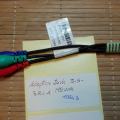 Adaptop Jack 3.5 - 3RCA Mama (10543)
