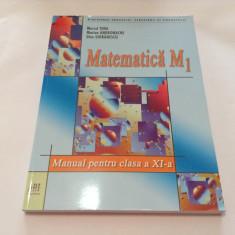 Marcel Tena, Marian Andronache,, Matematica M1. Manual pentru clasa a XI-a, R15 - Manual scolar, Clasa 11