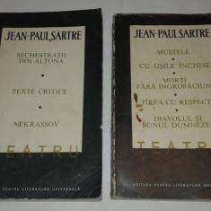 JEAN PAUL SARTRE - TEATRU Vol.1.2. - Carte Teatru