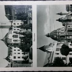 TARGU MURES - MAROSVASARHELY - ANII 1940, Circulata, Fotografie