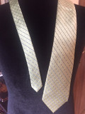 Cravata GEOFFREY BEENE matase, Verde