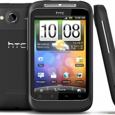HTC Wildfire S A510e - Telefon mobil HTC Wildfire S, Negru, Orange